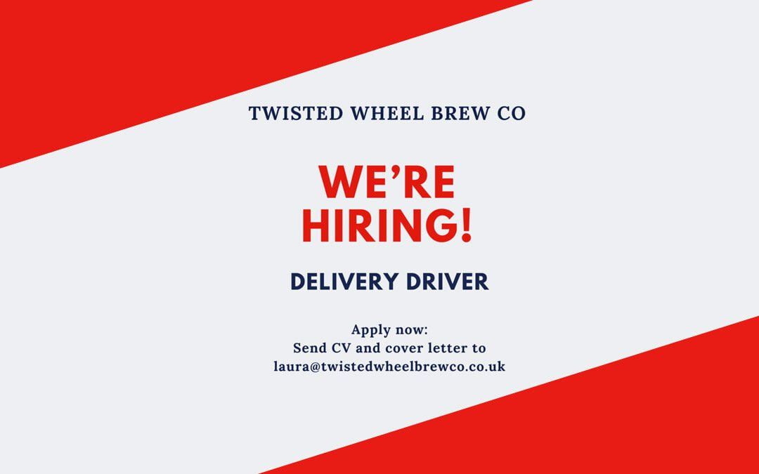 We're Hiring – Delivery Driver