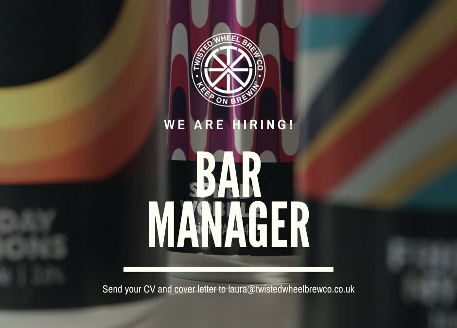 We are hiring: Bar Manager