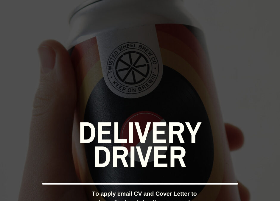 We are hiring: Delivery Driver